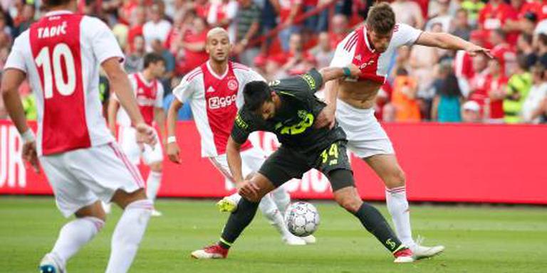 Ajax speelt gelijk in Luik