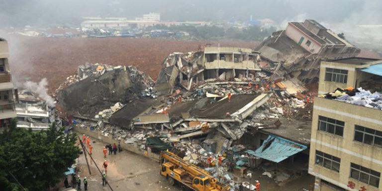 Ruim 90 vermisten na aardverschuiving China