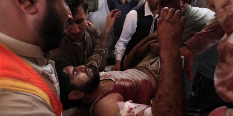 Bloedige aanslag op rechtbank Pakistan