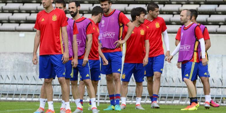 Spanje en Duitsland mikken op groepswinst