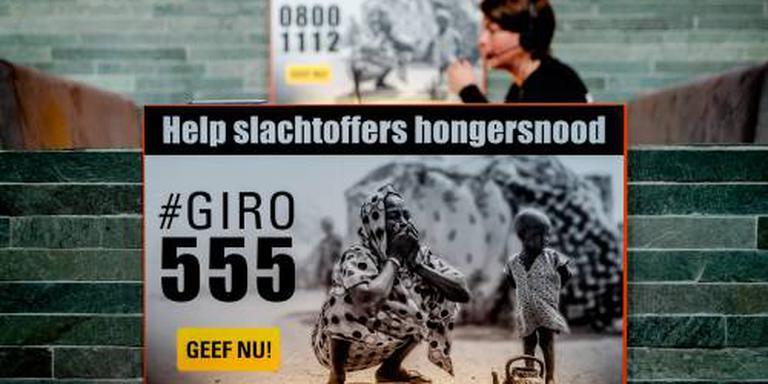 2 miljoen mensen geholpen met 555-donaties
