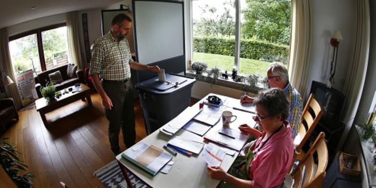 Veel stemmen voor bij kleinste stembureau