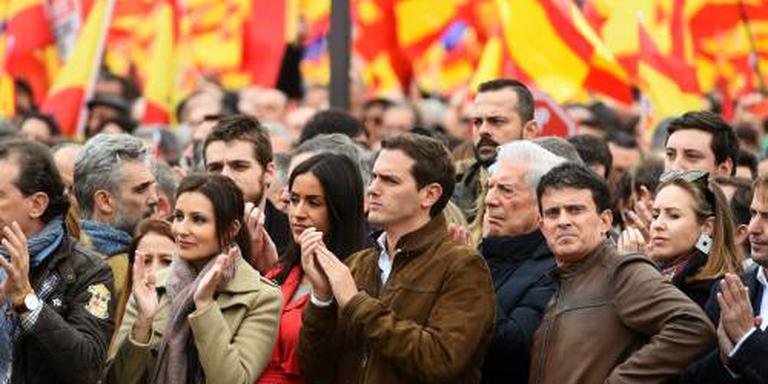 Duizenden betogen in Madrid tegen regering