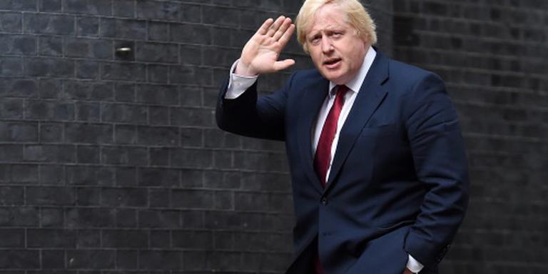 Boris Johnson minister van Buitenlandse Zaken