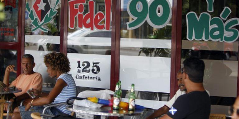 Cuba viert verjaardag Castro (90) uitbundig