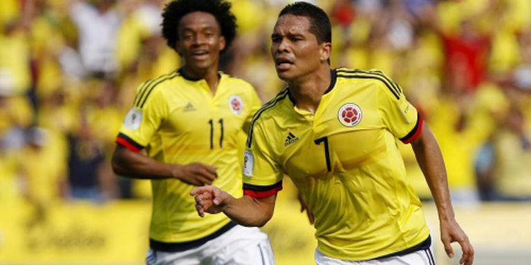 Sterren helpen Colombia naar kwartfinales