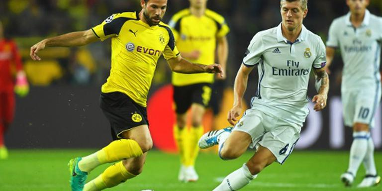 Real Madrid geeft zege weg in Dortmund