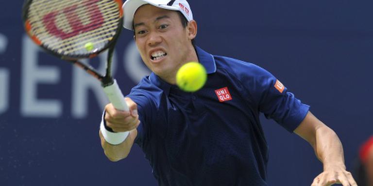 Nishikori houdt Wawrinka uit finale