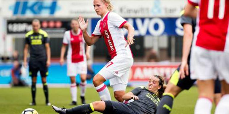 Tweede zege in Europa voetbalsters Ajax