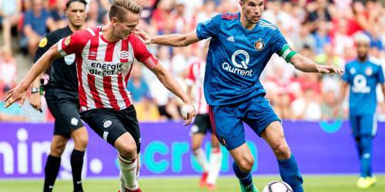 Feyenoord zonder Van Persie naar Slowakije