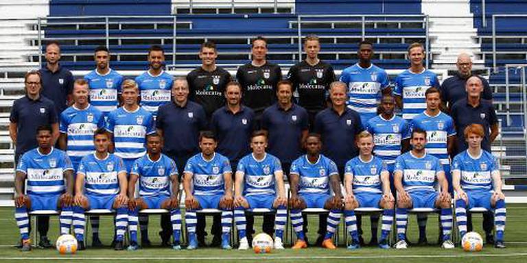PEC Zwolle start met zeven nieuwelingen