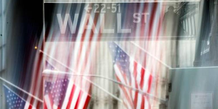 Facebook blikvanger op groen Wall Street