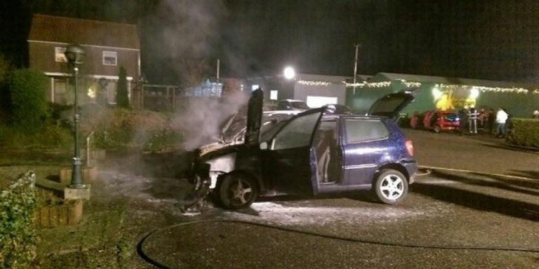 Auto's in brand in Rohel
