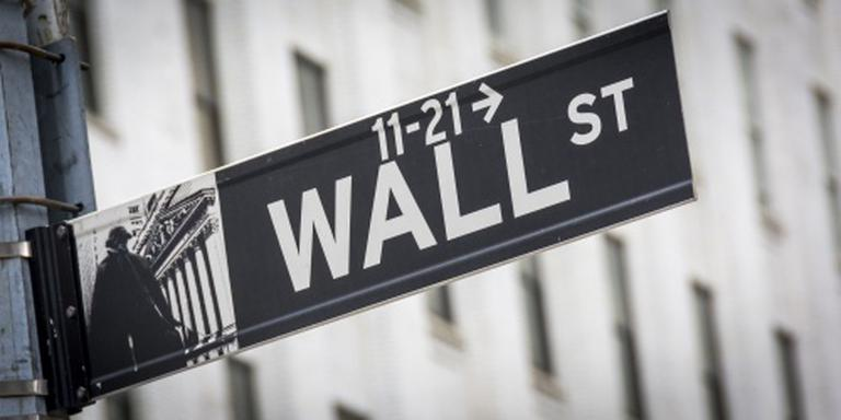 'Wall Street opent licht in de plus'