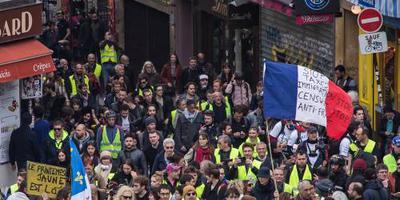 Grote rellen blijven uit bij mars gele hesjes