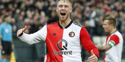 Feyenoord met Jørgensen en zonder Larsson