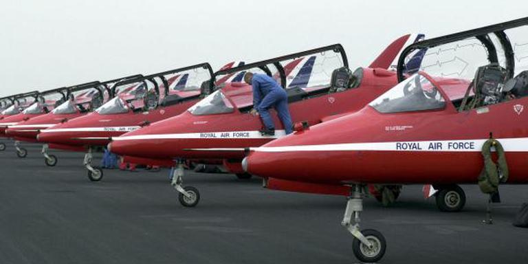 Red Arrows komen naar Luchtmachtdagen.
