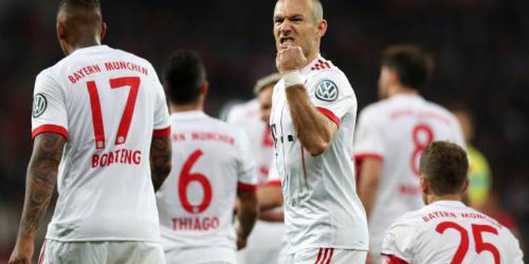 Bayern simpel naar Duitse bekerfinale
