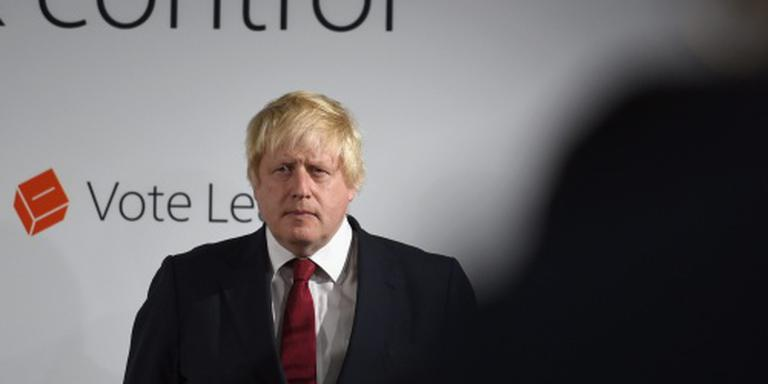 'Exit' Boris Johnson