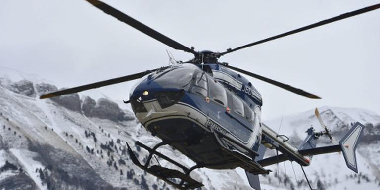 Vier doden bij crash Franse politiehelikopter