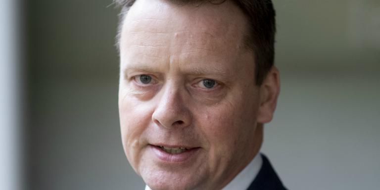 FNP-lijsttrekker Johannes Kramer. FOTO HOGE NOORDEN/JACOB VAN ESSEN