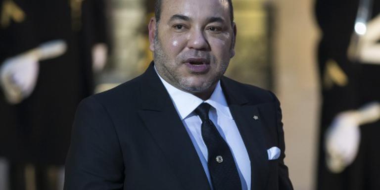 Marokkaanse koning even in Amsterdam