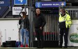 Coach Johnny Jansen tijdens de wedsgtrijd SC Heerenveen-Willem II.