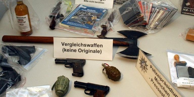 'Veel wapenbezit Duitse rechtsextremisten'
