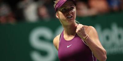 Svitolina verslaat ook Pliskova in WTA Finals