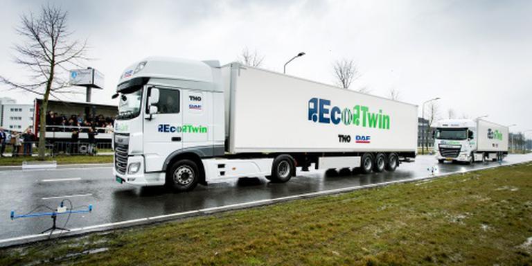 Supermarktketens willen 'truck-treinen'