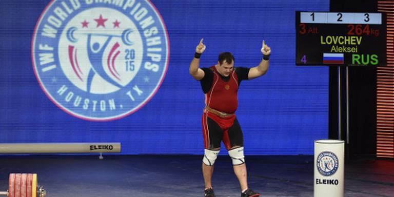 Rio op de tocht voor Russische gewichtheffers