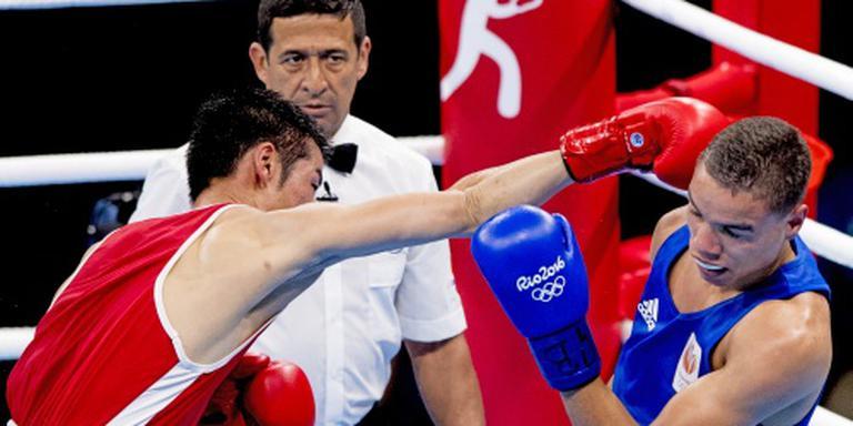 Bokser Lacruz kan niet stunten in Rio