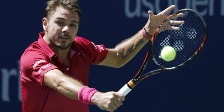 Wawrinka in drie sets langs Verdasco