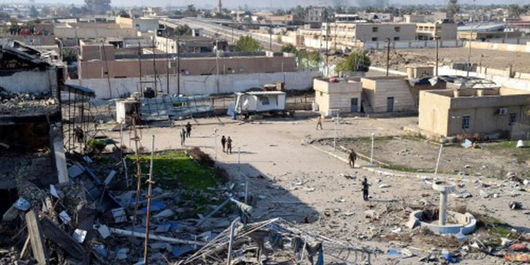 'IS-woordvoerder gewond bij luchtaanval'