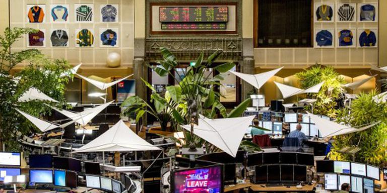 Flow Traders koploper op vlak Damrak