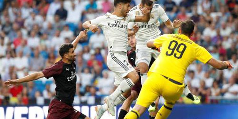 Real Madrid pakt prijs tegen AC Milan