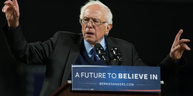 Sanders wint vet maar komt nauwelijks vooruit