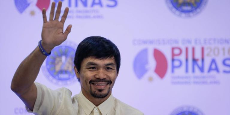 Bokser Pacquiao bevestigt rentree