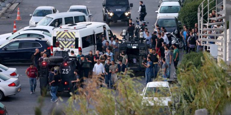 Grote politiemacht op de been in Istanbul