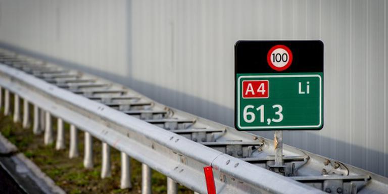 A4 richting Rotterdam dicht