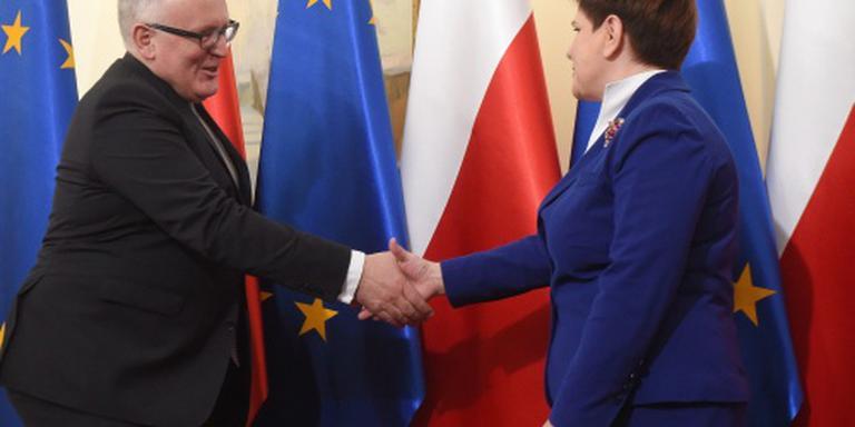 EC geeft Polen tijd voor interne oplossing