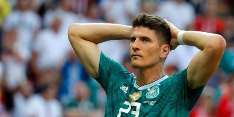 Spits Gómez neemt afscheid van 'Mannschaft'