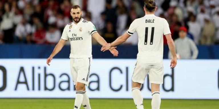 Real Madrid traint zonder Benzema