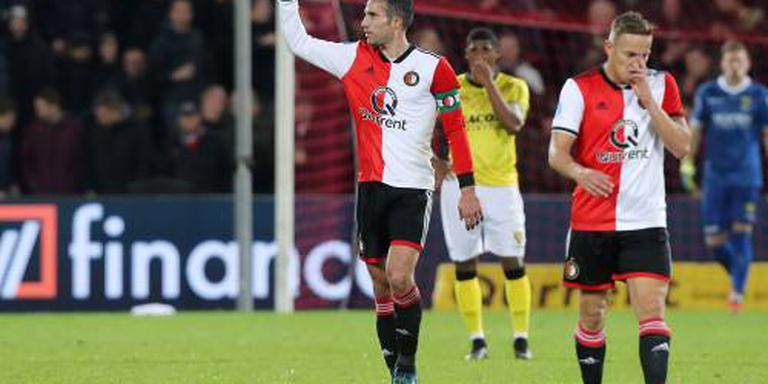 Feyenoord verslaat VVV met 4-1