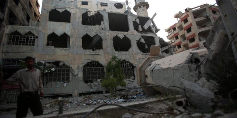 Hulp aangekomen in voorsteden Damascus