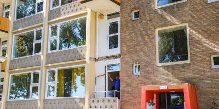 Balkons Groningse straat tot eind jaar dicht