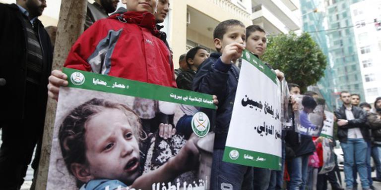 Hulp onderweg naar hongerend Madaya