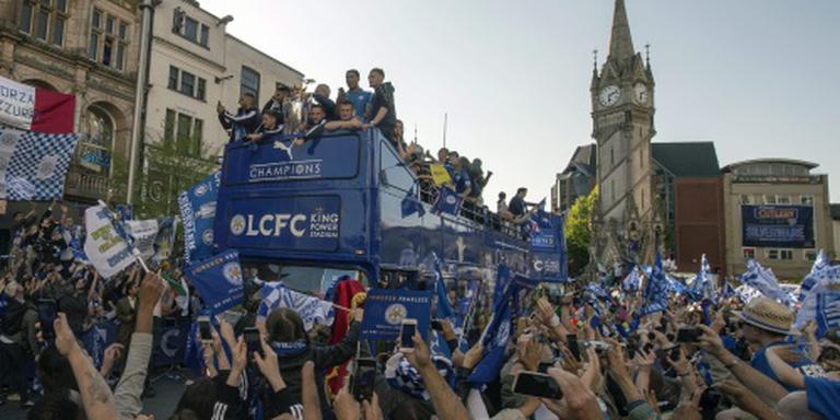 Kwart miljoen fans bij huldiging Leicester