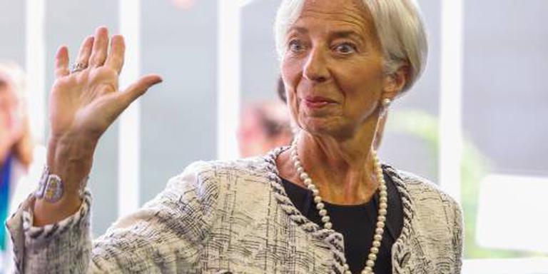 Lagarde: geen topbaan bij ECB of EU