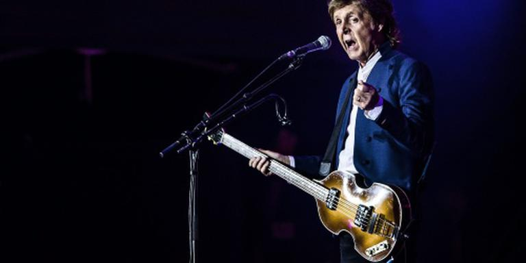 Paul McCartney echt naar Pinkpop